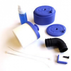 Fastrax Waterproof Air Filter 1/8th w/Air Filter Oil - Blue