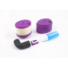 Fastrax Waterproof Air Filter 1/8th w/Air Filter Oil - Purple