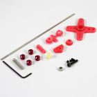 Fastrax Universal Throttle Linkage Kit Pink