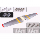 FMS 1700MM P51 MAIN WING SET - RED TAIL