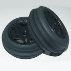 FTX SIDEWINDER SAND WHEELS COMPLETE MOUNTED FRONT