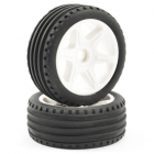 FTX COMET BUGGY FRONT MOUNTED TYRE & WHEEL WHITE