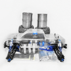 HOBAO HYPER MT PLUS II ELECTRIC MONSTER TRUCK 80% ROLLING CHASSIS