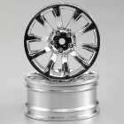 KILLERBODY WHEEL 3MM OFFSET CHROME 10-SPOKE 1/10 TC (4)