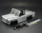 KILLERBODY MARAUDER 1/10 CRAWLER SILVER FINISHED BODY