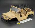 KILLERBODY WARRIOR 1/10 CRAWLER FINISHED MATT SAND BODY