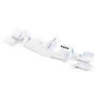 PROTOFORM V2 F1 FRONT WING (WHITE) FOR 1/10TH F1 CAR