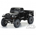 PROLINE 1946 DODGE POWER WAGON TOUGH COLOUR BLACK 313MM CRAWL