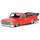 PROLINE 1972 CHEVY C-10 CLEAR DRAG BODY FOR 2WD DRAG TRUCK