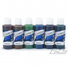 PROLINE RC BODY PAINT - CANDY SET RED/YELL/GRE/BLUE/VIO/TURQ