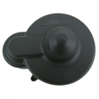 RPM Losi LST Black Gear Cover & Backing Plate