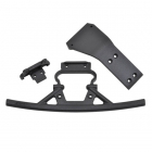 RPM FRONT BUMPER & SKID PLATE FOR LOSI BAJA REY