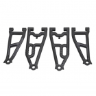 RPM FRONT UPPER & LOWER A-ARMS FOR LOSI BAJA REY