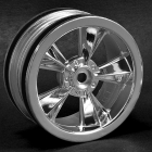 "RPM ""N2O"" GLOSS BLACK RESTO MOD SEDAN WHEELS"