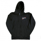 ASSOCIATED TRI ZIP-UP HOODIE BLACK (XXXL)