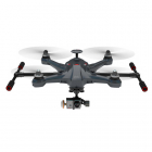 WALKERA CARBON SCOUT X4 DRONE FPV2 DEVO F12E, G-3D GIMBAL, ILOOK+, GROUND STAT