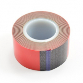 Fastrax Premium Double Sided/Servo Tape 25mm x 1M Roll (Thickness 1mm)
