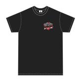 FTX BADGE LOGO BRAND T-SHIRT BLACK - X LARGE