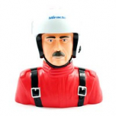 Miracle Helmet 1/4th Pilot - Red (h120xl120xw70mm)