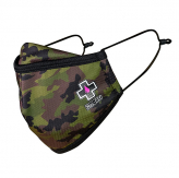 MUC-OFF REUSEABLE FACE MASK WOODLAND CAMO - SMALL