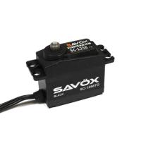 SAVOX HIGH TORQUE CORELESS DIGITAL SERVO 12KG@6.0V - BLACK