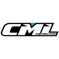 CML RACING DECAL SHEET 230mm X 160mm BLACK/WHITE