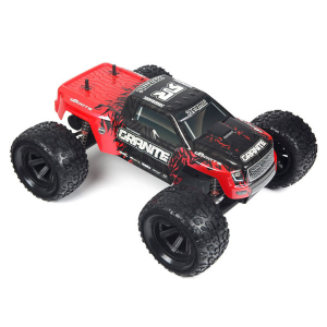 ARRMA BODY GRANITE MEGA RED BLACK 2016