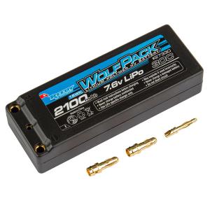 REEDY WOLFPACK HV-LIPO 2100MAH 30C 7.6V HARD CASE