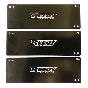 REEDY STICK LIPO BATTERY WEIGHT SET (29g/39g/48g)