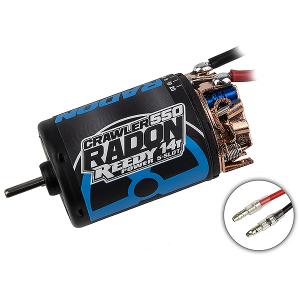 REEDY RADON 2 CRAWLER 550 14T 5 SLOT 1600KV BRUSHED MOTOR