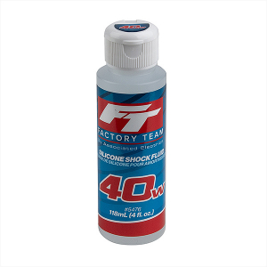 TEAM ASSOCIATED FT SILICONE SHOCK 40WT (500cSt) 4oz/118ml