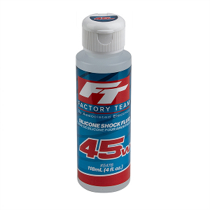 TEAM ASSOCIATED FT SILICONE SHOCK 45WT (575cSt) 4oz/118ml