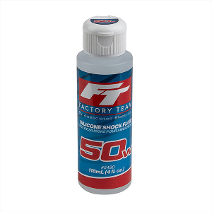 TEAM ASSOCIATED FT SILICONE SHOCK 50WT (650cSt) 4oz/118ml