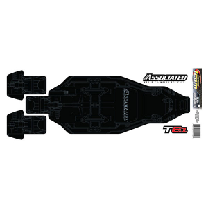 ASSOCIATED T6.1 FT CHASSIS PROTECTIVE SHEET PRINTED