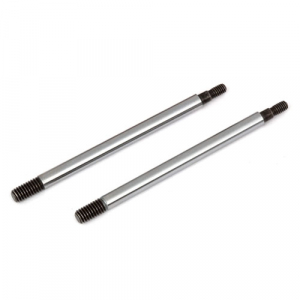 ASSOCIATED RC8B3/RC8B3.1 FACTORY TEAM CHROME SHOCK SHAFTS 30.5mm