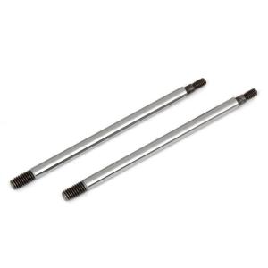 ASSOCIATED RC8B3/RC8B3.1 FACTORY TEAM CHROME SHOCK SHAFTS 39.5mm