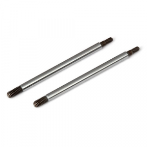 ASSOCIATED RC8T3 FACTORY TEAM CHROME SHOCK SHAFTS 33.5mm