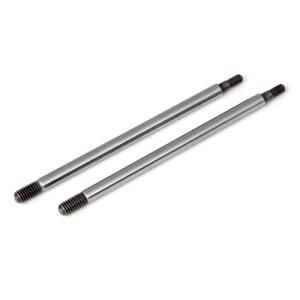 ASSOCIATED RC8T3 FACTORY TEAM CHROME SHOCK SHAFTS 42.5mm