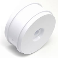Team Associated RC8 83mm 1/8th Wheels (4) - White