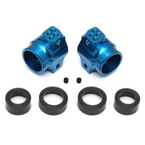 ASSOCIATED B5/B5M/T5M/B6/B6D ALUMINIUM REAR HUBS BLUE