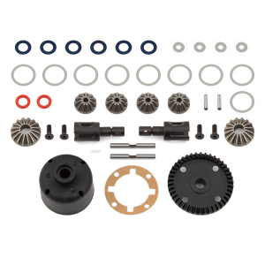 TEAM ASSOCIATED B64 GEAR DIFF KIT, FRONT AND REAR