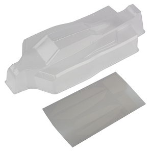 TEAM ASSOCIATED B74 BODYSHELL, CLEAR