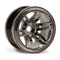 Axial Racing 2.2 Rockster Beadlocks - Black Chrome