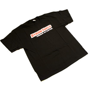 BYRON RACE T-SHIRT BLACK LARGE
