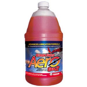 BYRON AERO Gen2 PREMIUM 10% 4-CYCLE AIRCRAFT FUEL - GALLON (16% Oil)