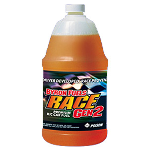 BYRON RACE 2500 GEN2 25% FUEL - 1/2 GALLON (11% OIL)
