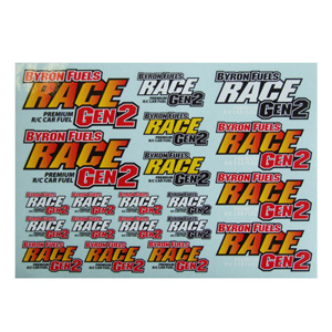 Byron 220cm X 158mm Gen2 Race Decal