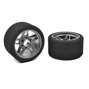 CORALLY ATTACK FOAM TYRES 1/8 CIRCUIT 35 SHORE FRONT CARBON