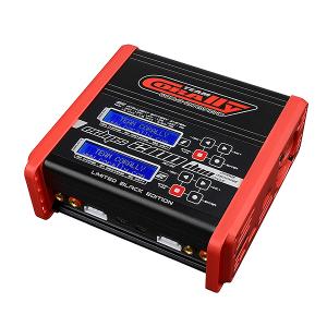 CORALLY CHARGER ECLIPS 2100 DUO LIMITED BLACK AC/DC 100W POWER LCD DISPLAY (2X) 1-6 LI-XX 1-15 NI-XX