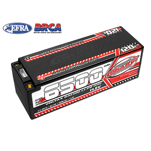 CORALLY VOLTAX 120C LIPO BATTERY 6500MAH 14.8V STICK 4S 5MM